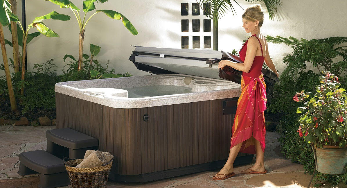 Hot Tub Spa Covers Lifts Steps Decking And Gazebos