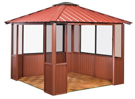 Gazebo 10x10 2-Sided