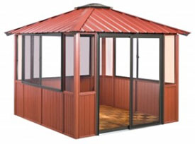 Gazebo 10x10 Enclosed