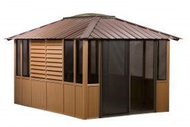 Gazebo Brown