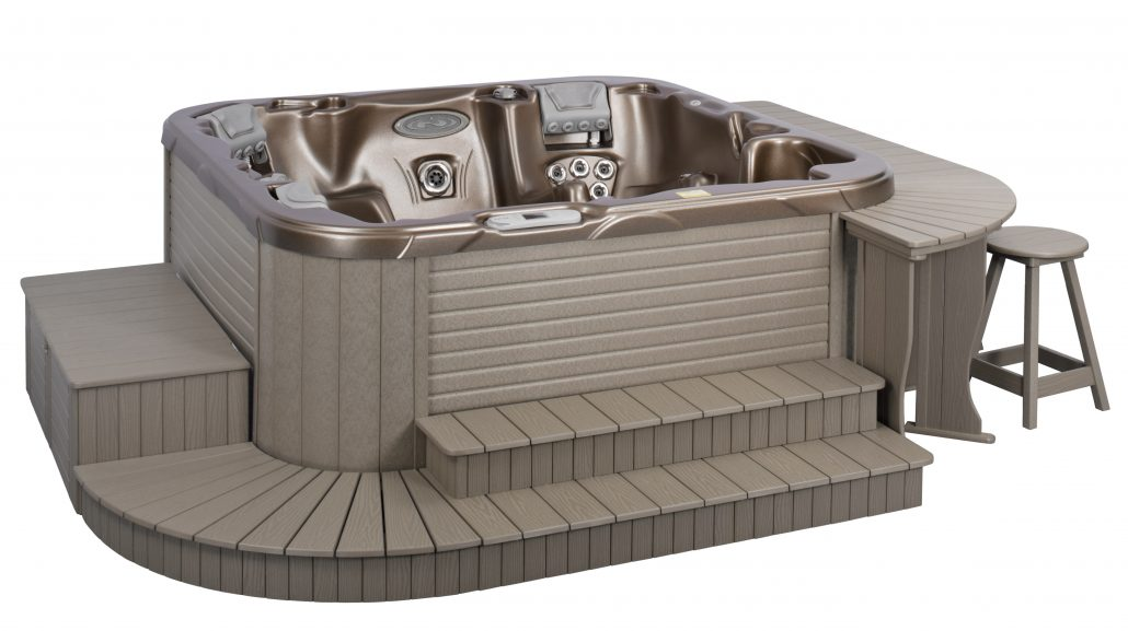 Surrounds Modular Decking For Hot Tubs Amp Spas