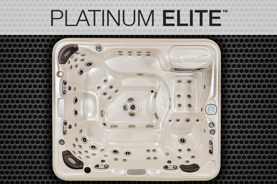 Platinum Elite Pelican Bay 9 seat 9 foot luxury hot tub