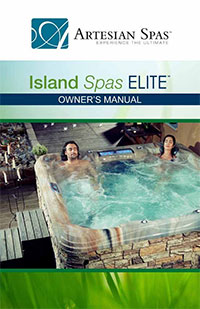 Click here to view the Island Spas Elite owner's manual