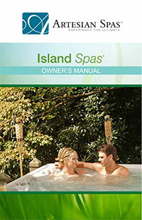 Click here to view the Island Spas owner's manual