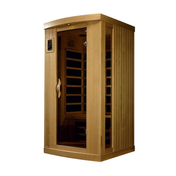 One person ultra low EMF infrared sauna