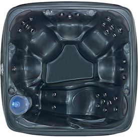 7 person hot tub with Pearlglaze Finish from Dream Maker Spas
