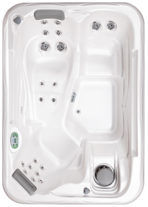 South Seas 521L hot tub with 3 seats, 7 foot size