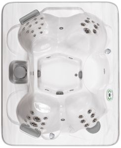 South Seas Deluxe 743D hot tub with 5 seats, 7 foot size