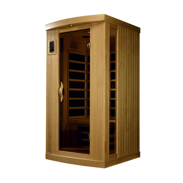 One person ultra low EMF infrared sauna