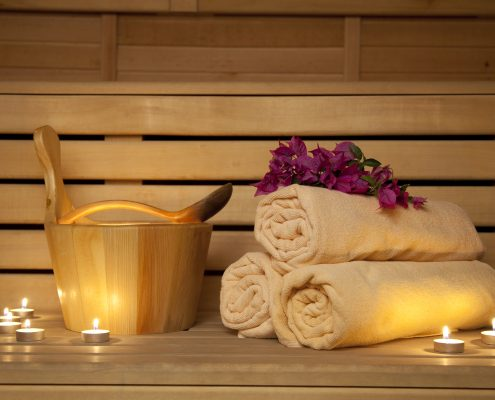 Infrared saunas for meditation and relaxation