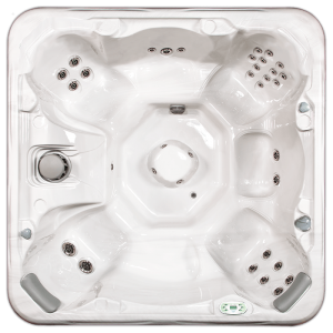 South Seas 843B & 843L hot tub with 7 seats, 8 foot size