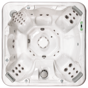 South Seas Deluxe 850B & 850L hot tub with 7 seats, 8 foot size