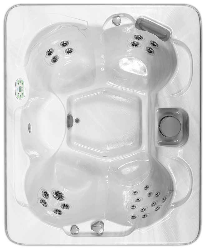 South Seas 726D hot tub with 5 seats, 7 foot size