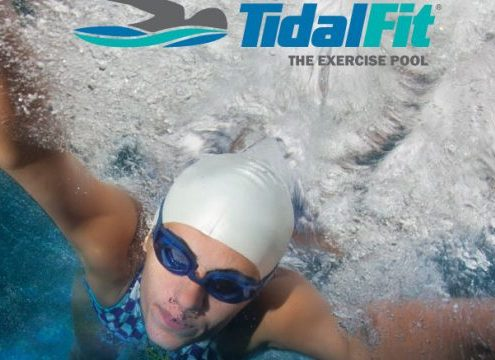 TidalFit exercise pools and swim spas