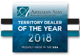 Flint Hills Spas Territory Dealer of the Year 2018