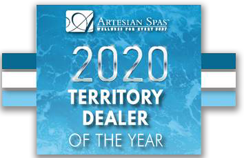Artisan 2020 Territory Dealer of the Year