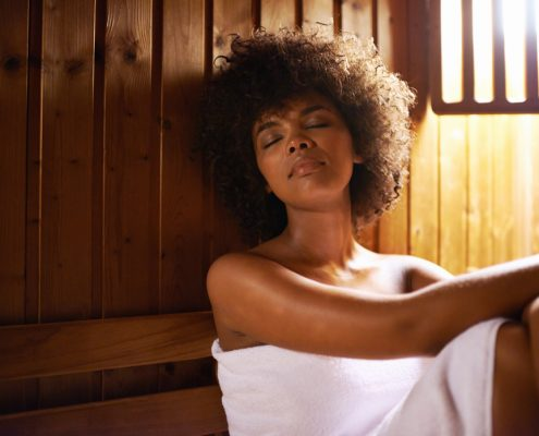 Infrared Saunas provide heat therapy and relaxation